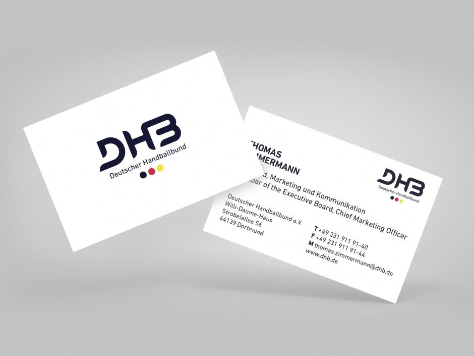 Geschäftsausstattung Dhb Brandguide